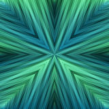 Aquamarine Striped Angular Background of Sea Colors. Gradient Texture of Symmetric Intersecting Lines from Center royalty free illustration