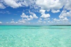 Aquamarine water Stock Images