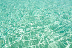 Aquamarine water background Royalty Free Stock Images