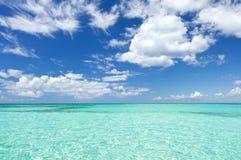 aquamarinevatten Fotografering för Bildbyråer