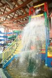 aquapark καταρράκτης Στοκ εικόνες με δικαίωμα ελεύθερης χρήσης