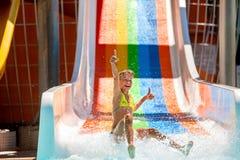 aquapark ύδωρ φωτογραφικών διαφ&alph Στοκ εικόνες με δικαίωμα ελεύθερης χρήσης