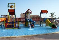 Aquapark Stockfotos
