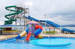 Aquapark Fotos de archivo libres de regalías