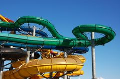 Aquapark Fotografia Stock