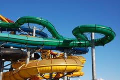 Aquapark Fotografia Stock