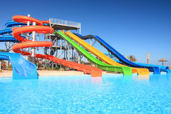 Aquapark. Stockbild