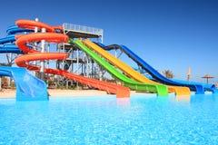 Aquapark. Stock Afbeelding
