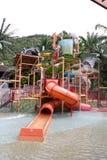 Aquapark Arkivbild