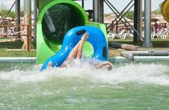 Aquapark Στοκ φωτογραφία με δικαίωμα ελεύθερης χρήσης