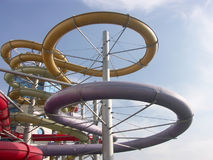 Aquapark Stockbilder