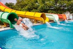Aquapark Imagenes de archivo