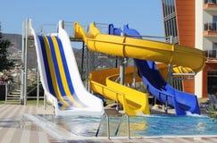 Aquapark Στοκ εικόνα με δικαίωμα ελεύθερης χρήσης