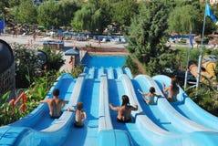Aquapark Stockbild
