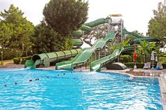 Aquapark Immagine Stock