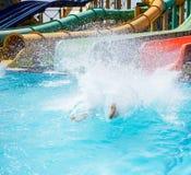 Aquapark Στοκ Φωτογραφία