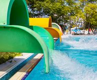 Aquapark Στοκ Εικόνα