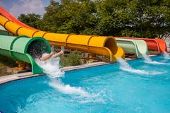 Aquapark Royalty Free Stock Images