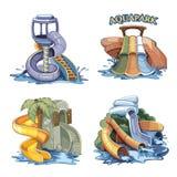 Aquapark Immagine Stock Libera da Diritti