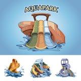 Aquapark Imágenes de archivo libres de regalías