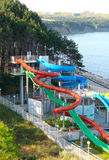 Aquapark Photo libre de droits
