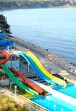Aquapark Royaltyfria Bilder