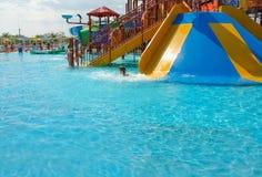 Aquapark images stock