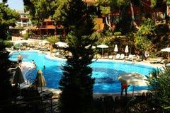 Aquapark Fotografia de Stock