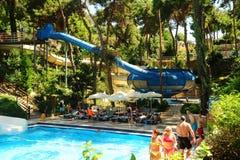 Aquapark Foto de Stock Royalty Free