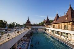 Aquapark in Felix Romania Stock Foto's