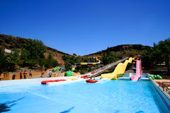 Aquapark in Gran Canaria. Royalty Free Stock Photos