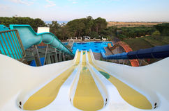 Aquapark in Hotel Stock Photography