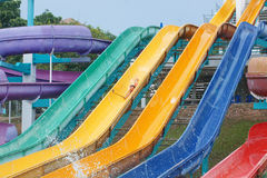 Aquapark Stock Photo