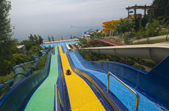 Aquapark Stock Photography