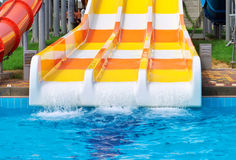 Aquapark sliders Stock Photos