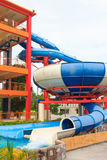 Aquapark sliders Stock Photography
