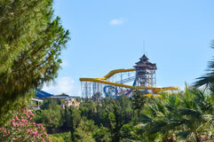 Aquapark Waterpark, Kusadasi,土耳其 库存照片