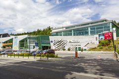 Aquapark in Zakopane Stock Images