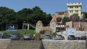 Aquapolis. The Golden Sands resort. Varna. Bulgaria. Aquapolis. The Golden Sands resort. Varna Bulgaria stock video