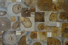 Aquare wood panels used as wall Royalty Free Stock Images