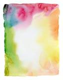 Aquarela abstrata fundo pintado fotos de stock royalty free