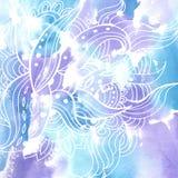 Aquarela background11 ilustração do vetor