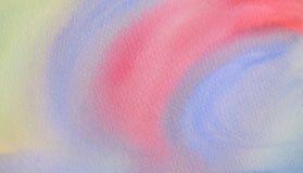 Aquarela colorida abstrata para o fundo imagem de stock