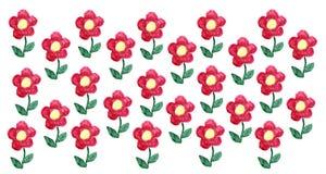 Aquarela das flores Imagens de Stock Royalty Free