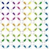 Aquarela do teste padrão Foto de Stock Royalty Free