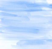 Aquarela escovada seca da pervinca ilustração stock