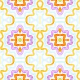 Aquarela geométrica colorida Brilho P sem emenda ilustração do vetor