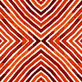 Aquarela geométrica do vermelho de vinho Pa sem emenda surpreendente ilustração do vetor
