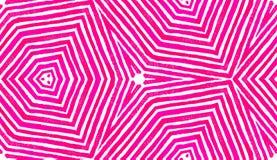 Aquarela geométrica vermelha cor-de-rosa Sem emenda delicioso ilustração royalty free