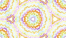 Aquarela geom?trica colorida Brilho P sem emenda ilustração do vetor